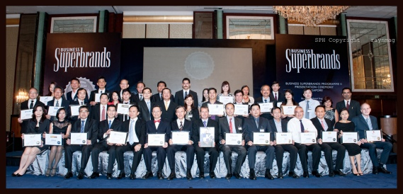 super brand group photo