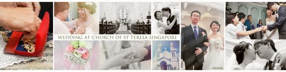St Teresa Wedding Collage