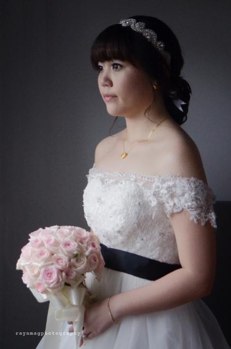 wedding day portrait