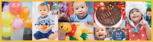 1st Birthday Party at HOT PLAY LAND
