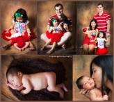 family & new born baby