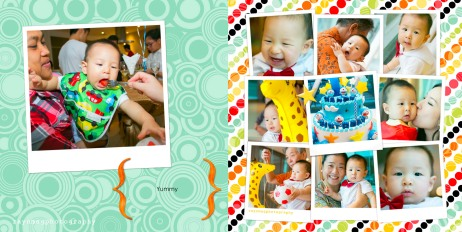 Jayden's 1st Birthday