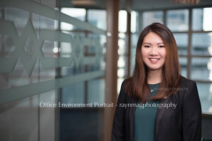 asian portrait - office